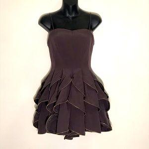 Ark & Co gorgeous dark eggplant dress